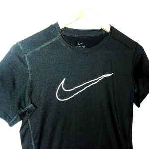 Nike Dri-Fit Black Athletic Shirt Sz XL